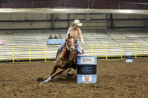 2015 Futurity Winner Rose Hildebrandt on BHR Speedy Frost
